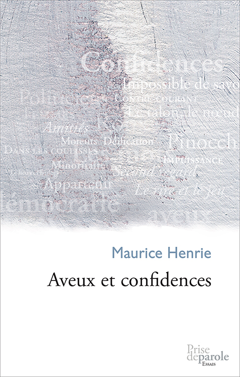 Aveux et confidences