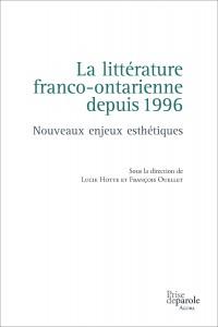 Littérature franco-ontarienne depuis 1996_br
